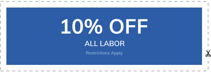 10% off all labor