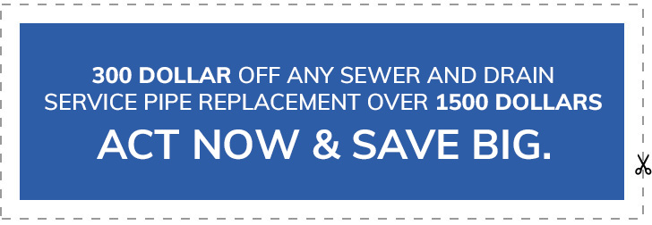 pipe replacement coupon